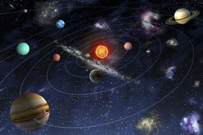 Free Download Solar System Wallpaper.