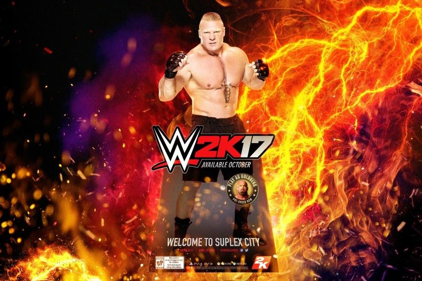 ... WWE 2K17 HD Wallpaper ...