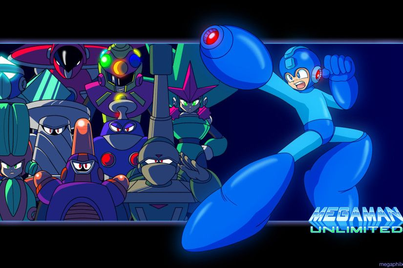 "... x 1200 Wallpaper ""Buster"" Download the Megaman ..."