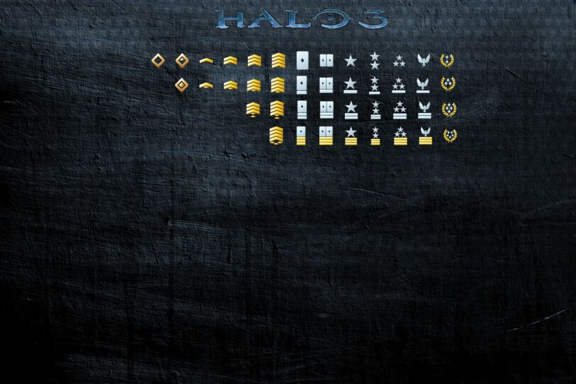 Halo 3 Ranks Background, FULL Version