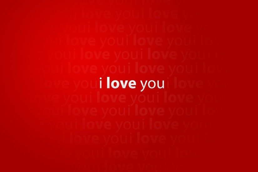 i love you mood red words creative pictures creative love red words