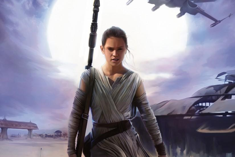 2560x1600 Wallpaper star wars, episode vii, the force awakens, daisy ridley