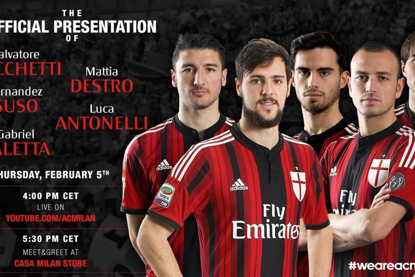 New Rossonero signings – Official Presentation | AC Milan Official - YouTube
