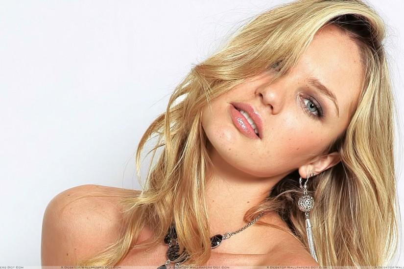 Candice Swanepoel In Golden Hairs Photoshoot 16 Jun 2014