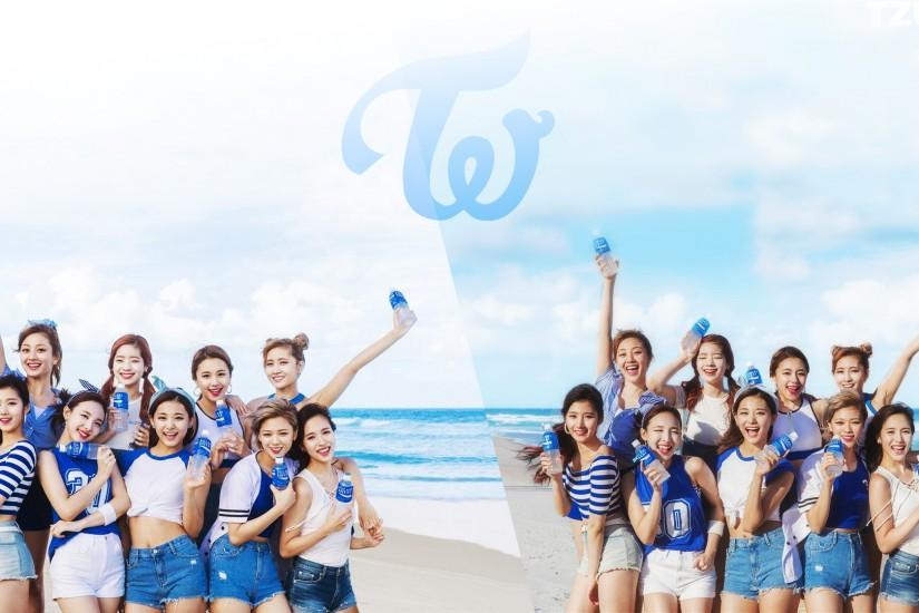PicTWICE x Pocari wallpaper ...
