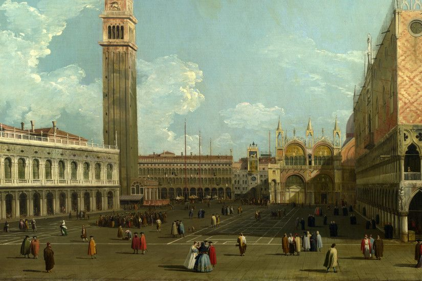 Full title: Venice: The Piazzetta from the Molo Artist: Studio of Canaletto  Date