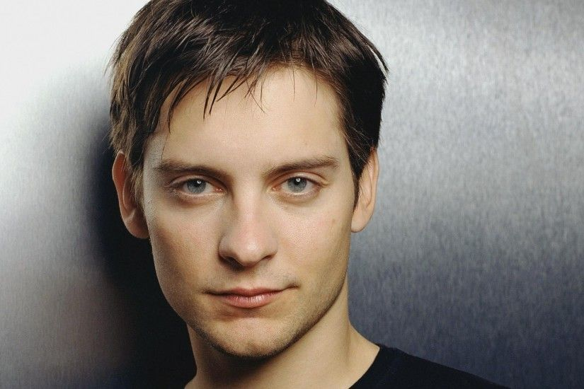 1920x1080 Wallpaper tobey maguire, guy, actor, face, close-up