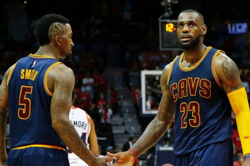 J.R. Smith Hopes Warriors Double-Team LeBron James: 'Best of Luck to 'Em' |  SLAMonline