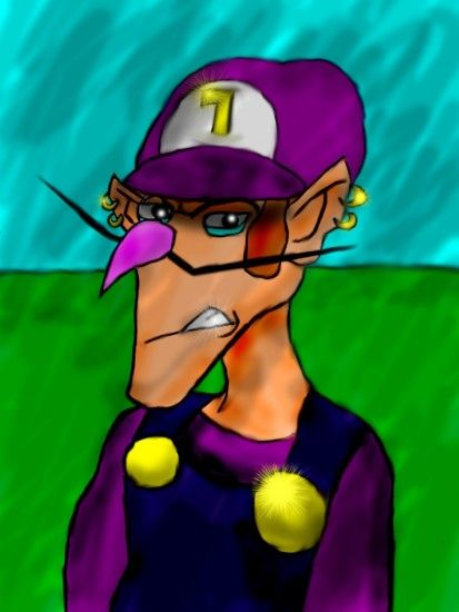 Waluigi images ShadamyMephonic Waluigi Art HD wallpaper and background  photos