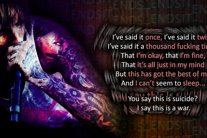 Bring Me The Horizon - It Never Ends Wallpaper by Nurbz4D on .