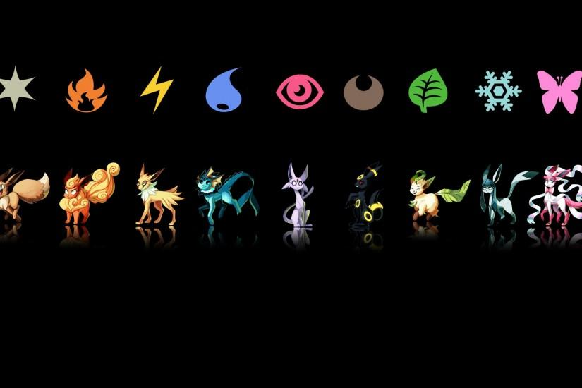 Pokemon Eevee Umbreon Wallpaper For a wallpaper of these,