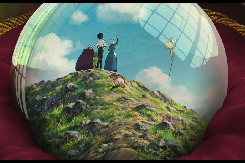 free download howls moving castle wallpaper 1920x1080