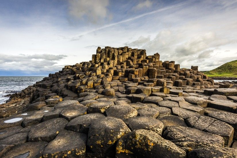 landscape, Ireland, Rock Formation, Giant's Causeway, Nature, Coast  Wallpapers HD / Desktop and Mobile Backgrounds