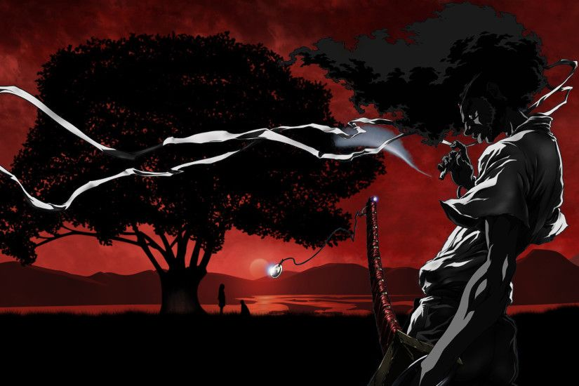 Afro Samurai Wallpapers, Sundown Afro Samurai Myspace Backgrounds .