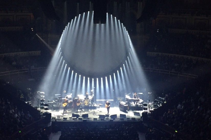 David Gilmour in concert at the Royal Albert Hall on Friday 25th September  2015. One of the best ever!