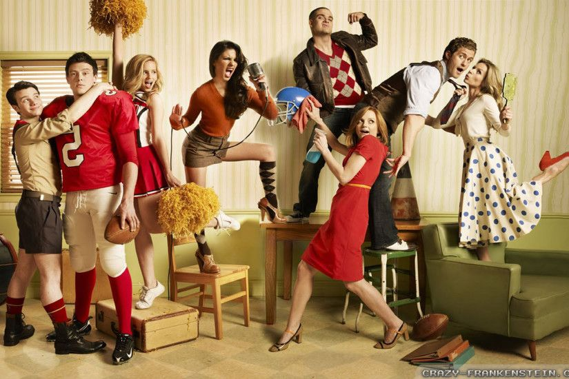 Wallpaper: Glee rolling stone Glee wallpapers. Resolution: 1024x768 |  1280x1024 | 1600x1200. Widescreen Res: 1440x900 | 1680x1050 | 1920x1200