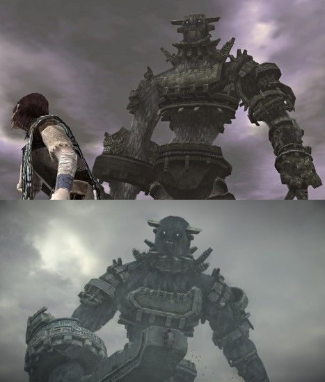 This is Gaius compared across PS3 and PS4 (PS3 was a straight HD port) ...