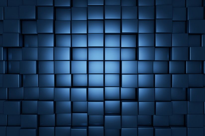 ... cubes HD Wallpaper 2560x1440 Blue ...