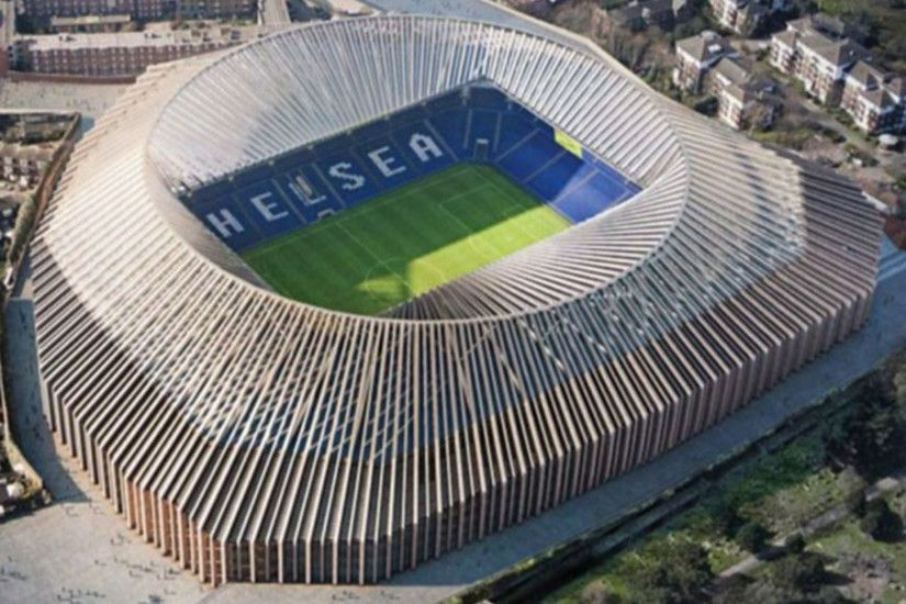 Chelsea ridiculed over design of new 60,000-seat Stamford Bridge that looks  like 'Friar Tuck's hair' and a 'mushroom' | The Independent