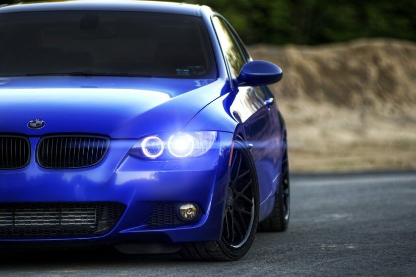car, BMW, Rims, Blurred, Blue Cars Wallpapers HD / Desktop and Mobile  Backgrounds