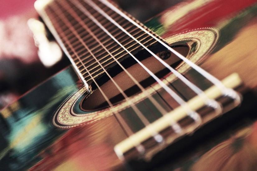 Acoustic guitar strings wallpaper - Music wallpapers - #
