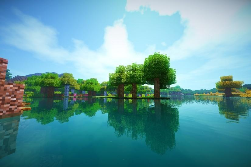 ... Minecraft Shaders Background (22 Wallpapers)