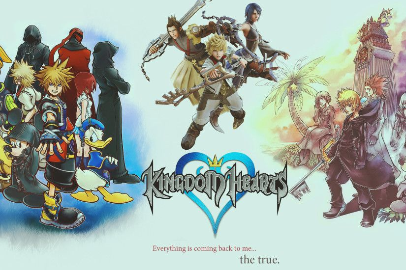 kingdom hearts hd wallpaper by kirareflex customization wallpaper hdtv .