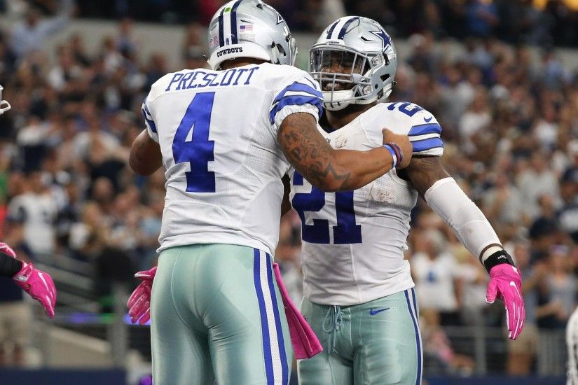Rookies Dak Prescott and Ezekiel Elliott combine for 4 TDs, as Dallas tops  Cincy for its fourth straight win. https://t.co/NS0pSKDBXf""