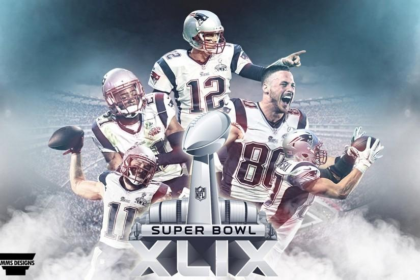 Free Wallpapers - New England Patriots Super Bowl XLIX Wallpaper