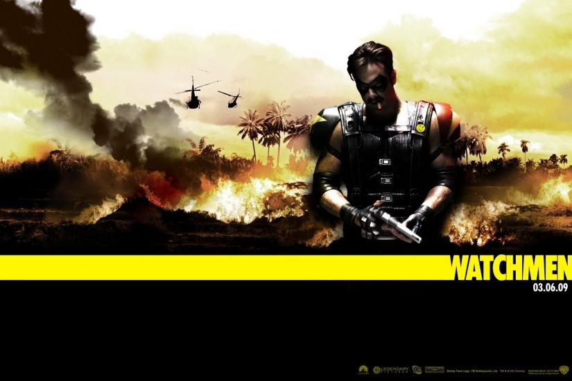 Watchmen Wallpaper Comedian 644555
