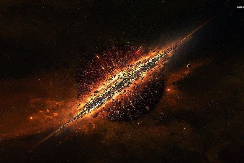 Explosion wallpaper - Fantasy wallpapers - #6842