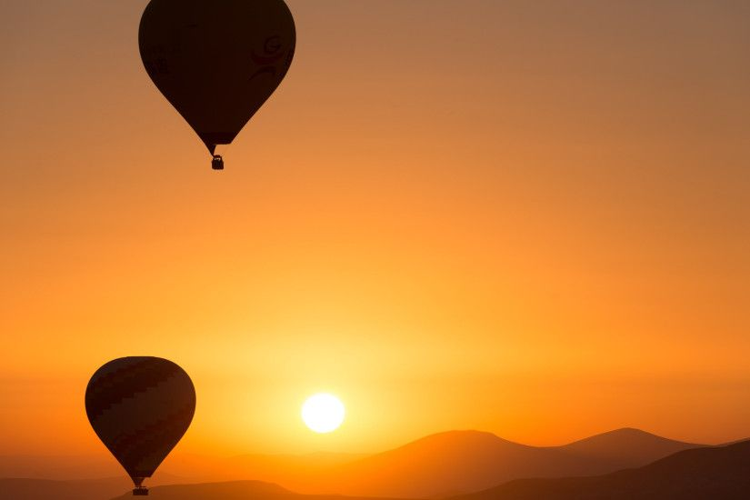 Hot Air Ballons Sunrise