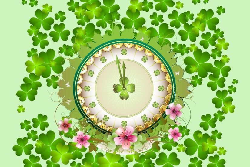 Desktop st patricks day wallpapers hd images sharmrock watch.