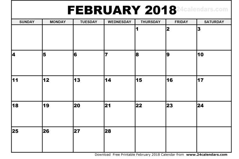 Desktop Calendar February 2018 : Desktop wallpapers calendar february ·①