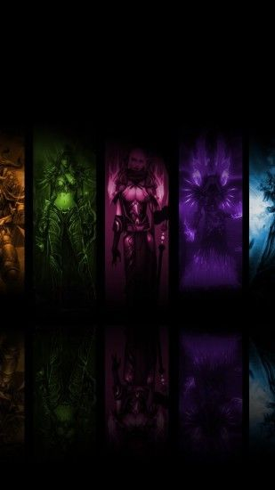 1440x2560 Wallpaper world of warcraft, priest mage, shots, photos,  characters, fan