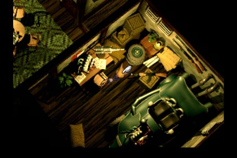 In the above example (Final Fantasy VII) you have our protagonist standing  in one of the main character's houses. There is a lot of attention to  detail in ...