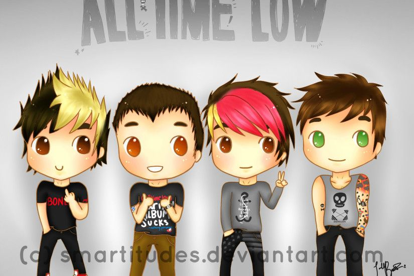 sammyenpolleke 4 0 All Time Low Chibi by smartitudes