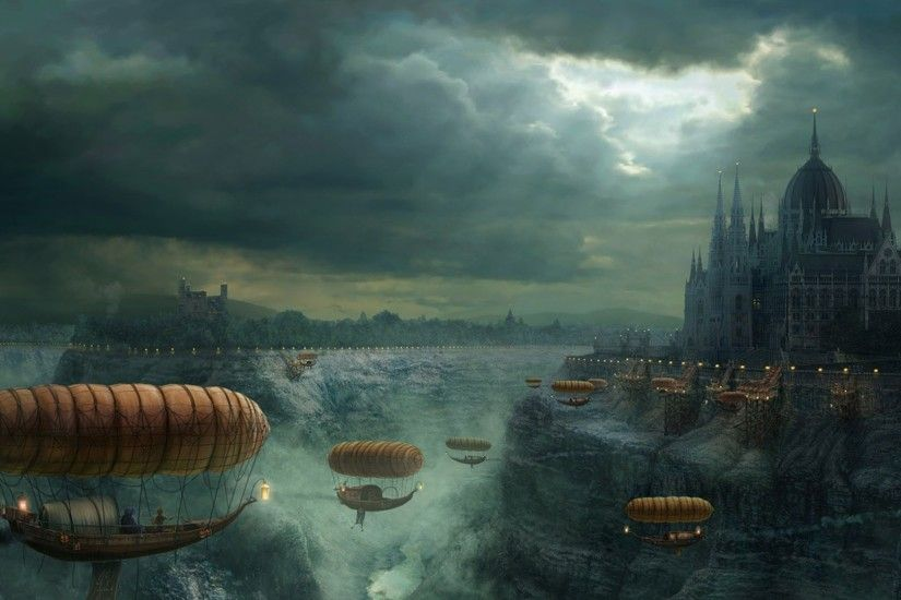 Steampunk Full HD Wallpaper 1920x1080