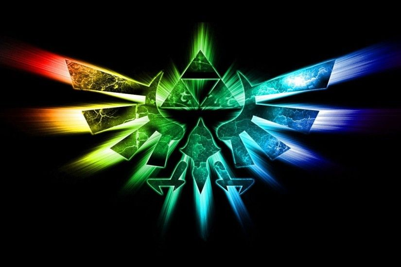 Colorful Hyrule Crest; crest 274591