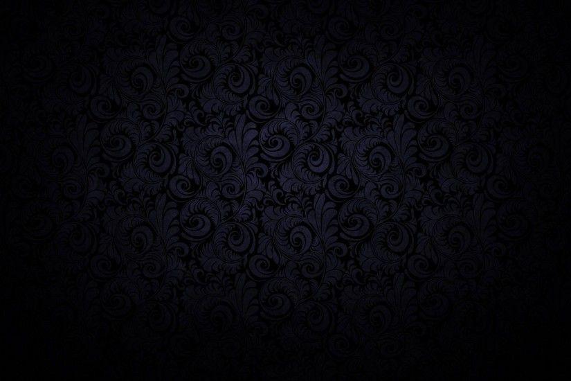 Pretty Black Patterns Background Wallpaper HD