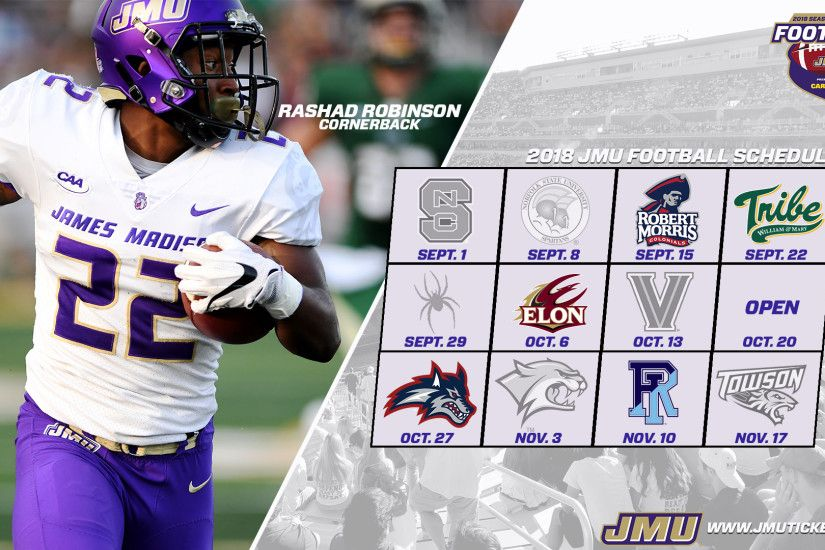 Dukes Release 2018 Football Schedule