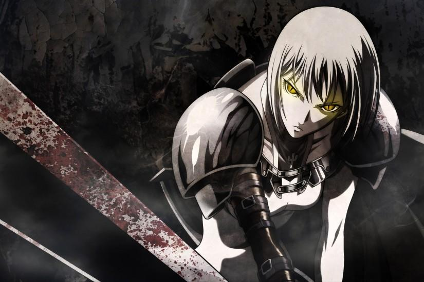 Claymore Anime Sword Action