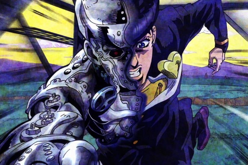 Anime - Jojo's Bizarre Adventure Super Fly (Jojo's Bizarre Adventure)  Josuke Higashikata Wallpaper