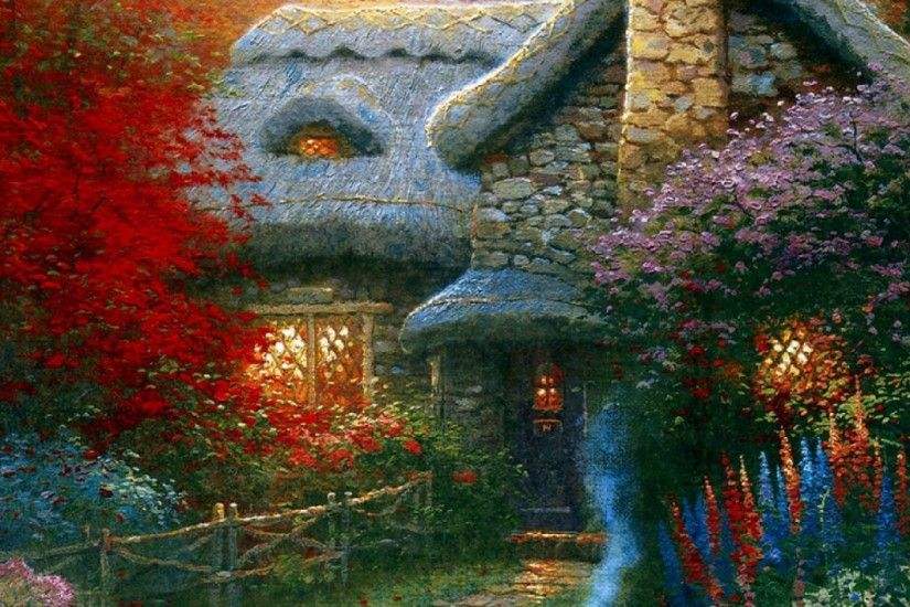 Thomas Kinkade Autumn ...