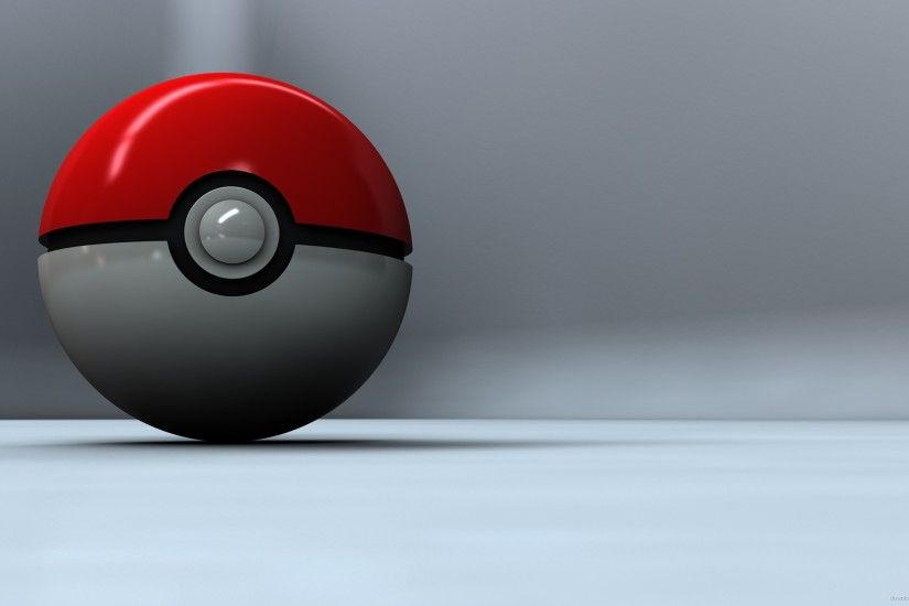 3D Poke Ball for 2560x1440