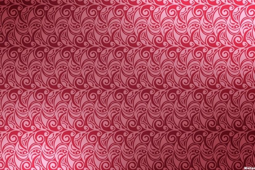 HD Cute Pink Swirl Pattern Wallpaper