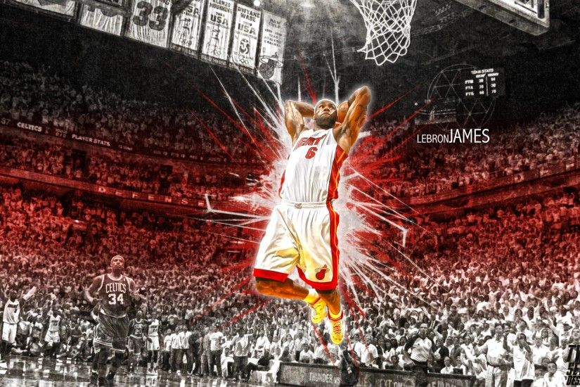 NBA Lebron James Heat Wallpapers | TanukinoSippo.