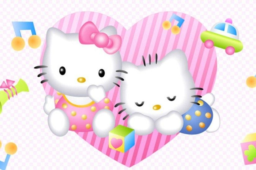 Get free high quality HD wallpapers hello kitty spring