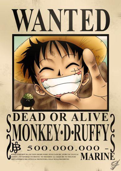 Luar Biasa Poster Bounty One Piece Hd Koleksi Poster