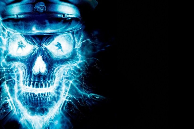 cool fire and ice pictures | skull, wallpaper, desktop, scenic, keyword,  media, ice